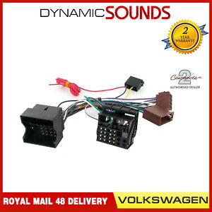 CT10VW01-Parrot-SOT-T-Harness-Adaptor-ISO-Wiring-Lead-For-Volkswagen-Golf-2004-gt