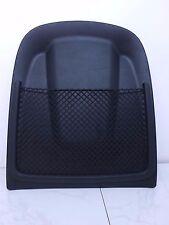 2013 AUDI S4 QUATTRO B8 OEM FRONT RIGHT SEAT BACK PANEL W/ NET BLACK 8T0881969E