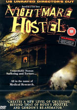 DVD:NIGHTMARE HOSTEL - NEW Region 2 UK