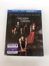 Vampire Diaries Complete Fifth Season 5 Five blu ray dvd Digital HD