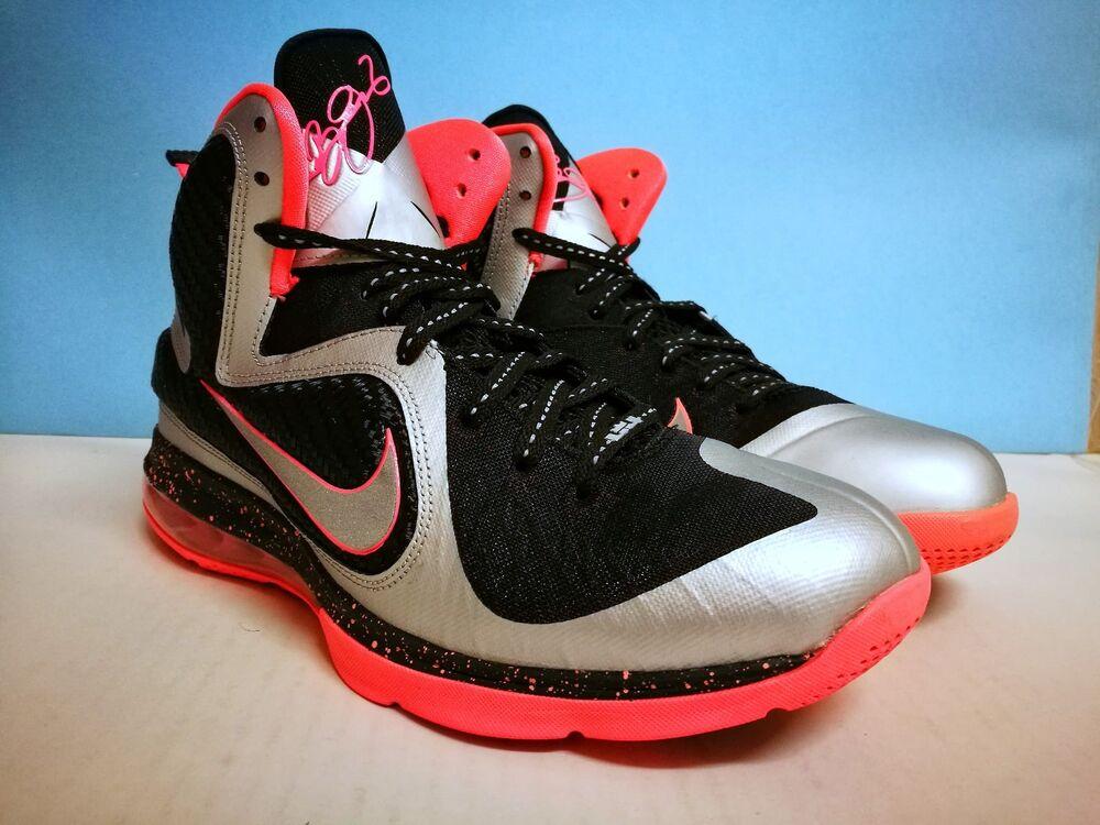 Nike Lebron IX (9) ++ MANGO ++ sz 9 US 42.5 EU 469764 005 Jordan Kobe KD Yeezy
