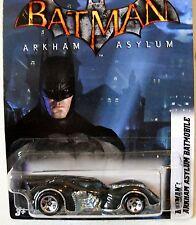 2012 Hot Wheels #6/8  BATMAN ARKHAM ASYLUM BATMOBILE WALMART EXCLUSIVE