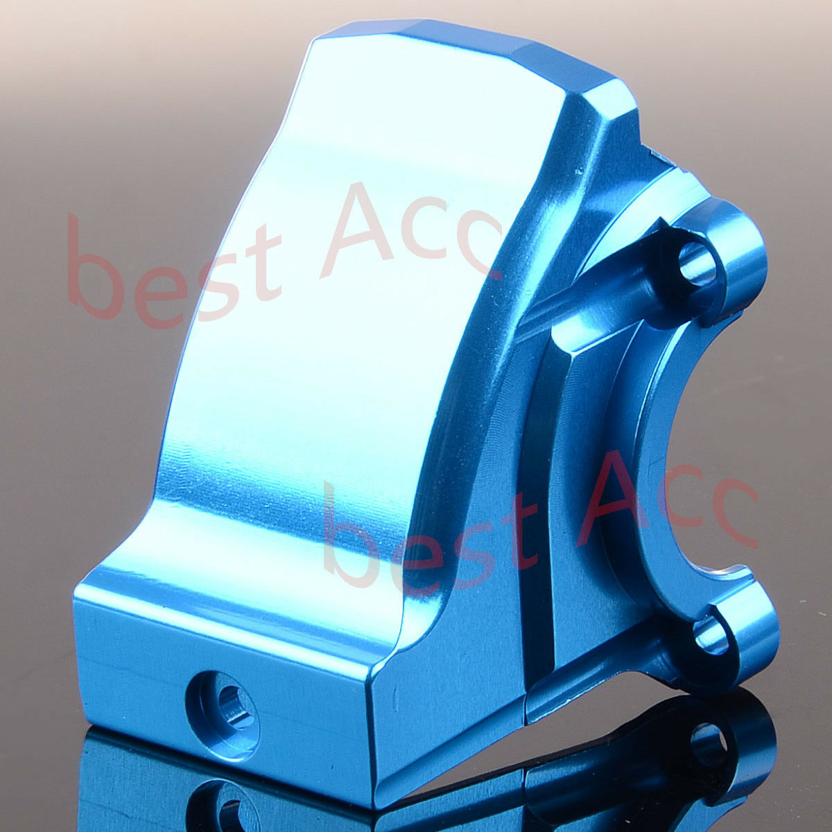 For RC 1 5 Traxxas X-Maxx 77076 TXM012A Front   Rear Gearbox Cover Aluminum bluee