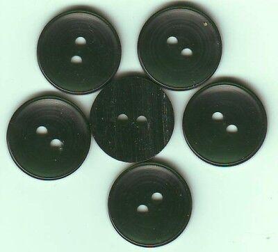 18 mm 2 trous Rose translucide Lot 9 BOUTONS  NEUFS