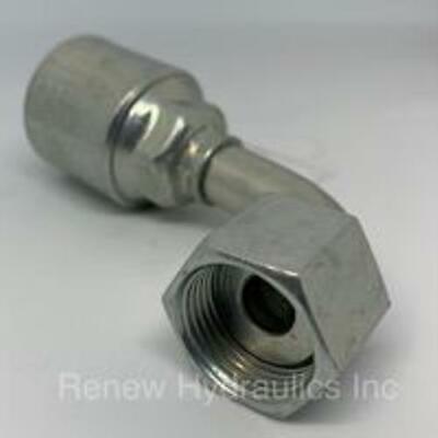 GENUINE GATES 12G-12FJX90L G25181-1212 Hydraulic Hose Fitting T106097