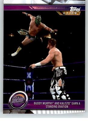 2019 WWE Road to Wrestlemania #53 Buddy Murphy