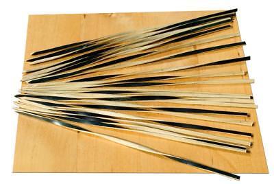 Black & Tan Spirale Bamboo Spiedino – 15 Cm X 100-goto- Elevato Standard Di Qualità E Igiene