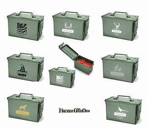 Personalized-Vintage-Military-Style-Metal-Ammo-Storage-Ammunition-Box-Army-Can