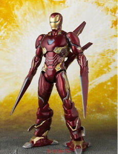 S-H-Figuarts-SHF-Avengers-Mark-50-Iron-Man-MK50-Nano-Weapon-Action-Figure-IN-BOX