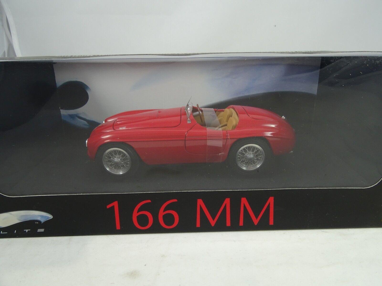 1 18 Mattel Elite  L2989 - Ferrari 166 mm Red - Rarity §