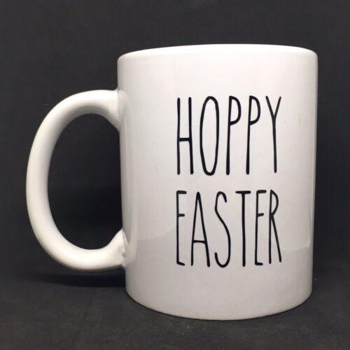 mugs RAE Dunn style Hoppy Easter Vinyl Decal Sticker-Idéal pour Verres tasses