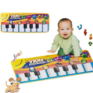 Baby-Kids-Touch-Play-Learn-Singing-Piano-Keyboard-Music-Carpet-Mat-Blanket-Toy