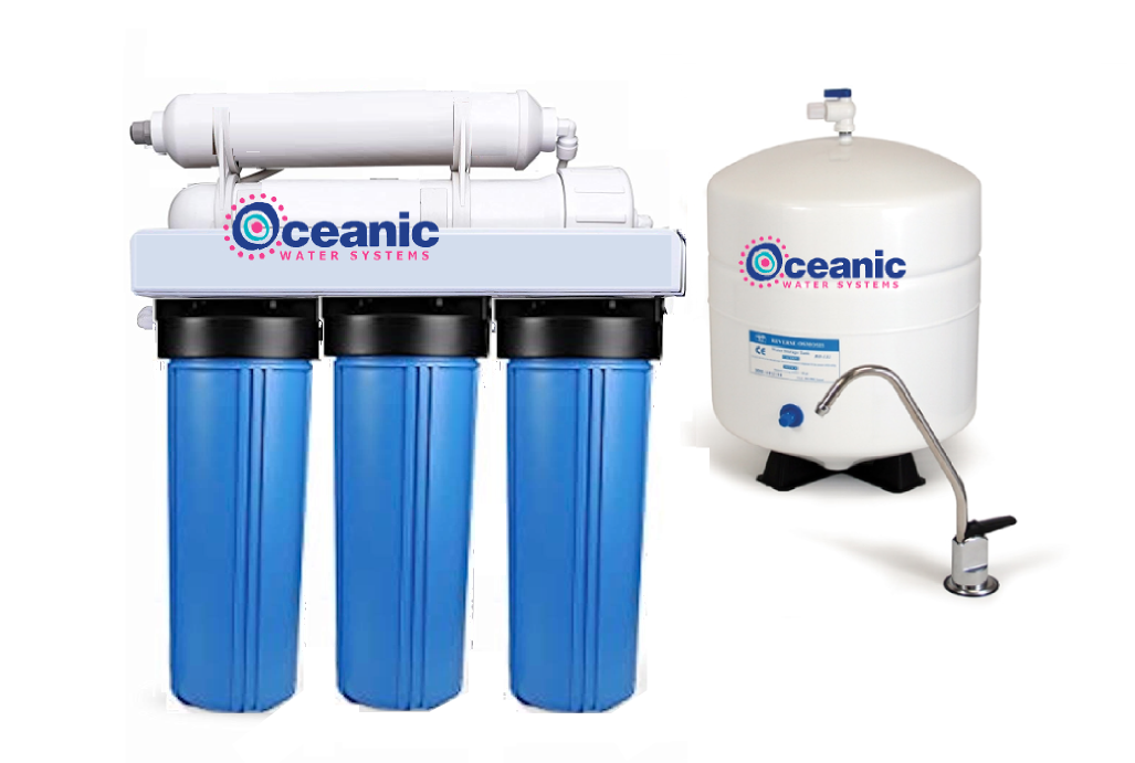 Home Reverse Osmosis RO Water Filter System High Pressure Series 5-Stage 50 GPD