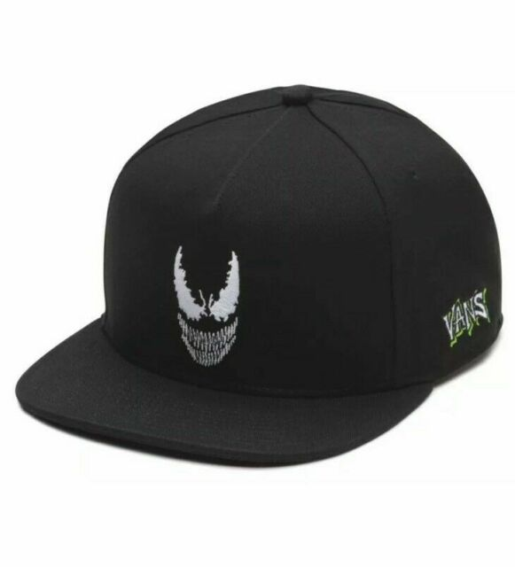 edd9650ae97005 VANS Marvel X VENOM SnapBack Hat. VN0A3HMIBLK One Size Fits All Ship in A  Box
