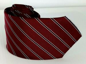 100-Silk-Tie-by-Rocket-Red-Striped