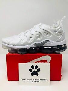 Vapormax Nike 10 10 Wolf 5 Plus 102 Air Grey 924453 White Size kZPiXu