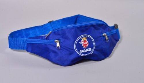SAAB WAIST FANNY PACK ADJUSTABLE BELLY BUM BAG flag 9-3 9-5 9-7 sedan sportcombi