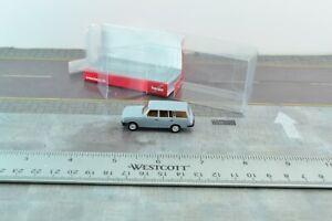 Herpa 024266 Wartburg Tourist 85 Grey Station Wagon 1:87 Scale HO