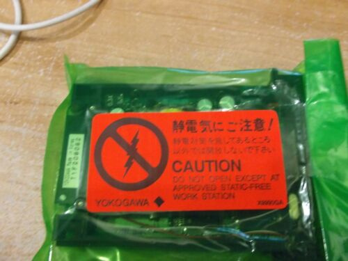 NEW YOKOGAWA SIGNAL CONDITIONER ET5*B NIP INPUT CARD CONTROLLER DR1B-1