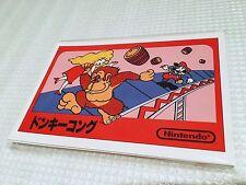 ★NEW★ Postcard preorder Amazon Famicom NES Nintendo Classic Mini Japan limited★