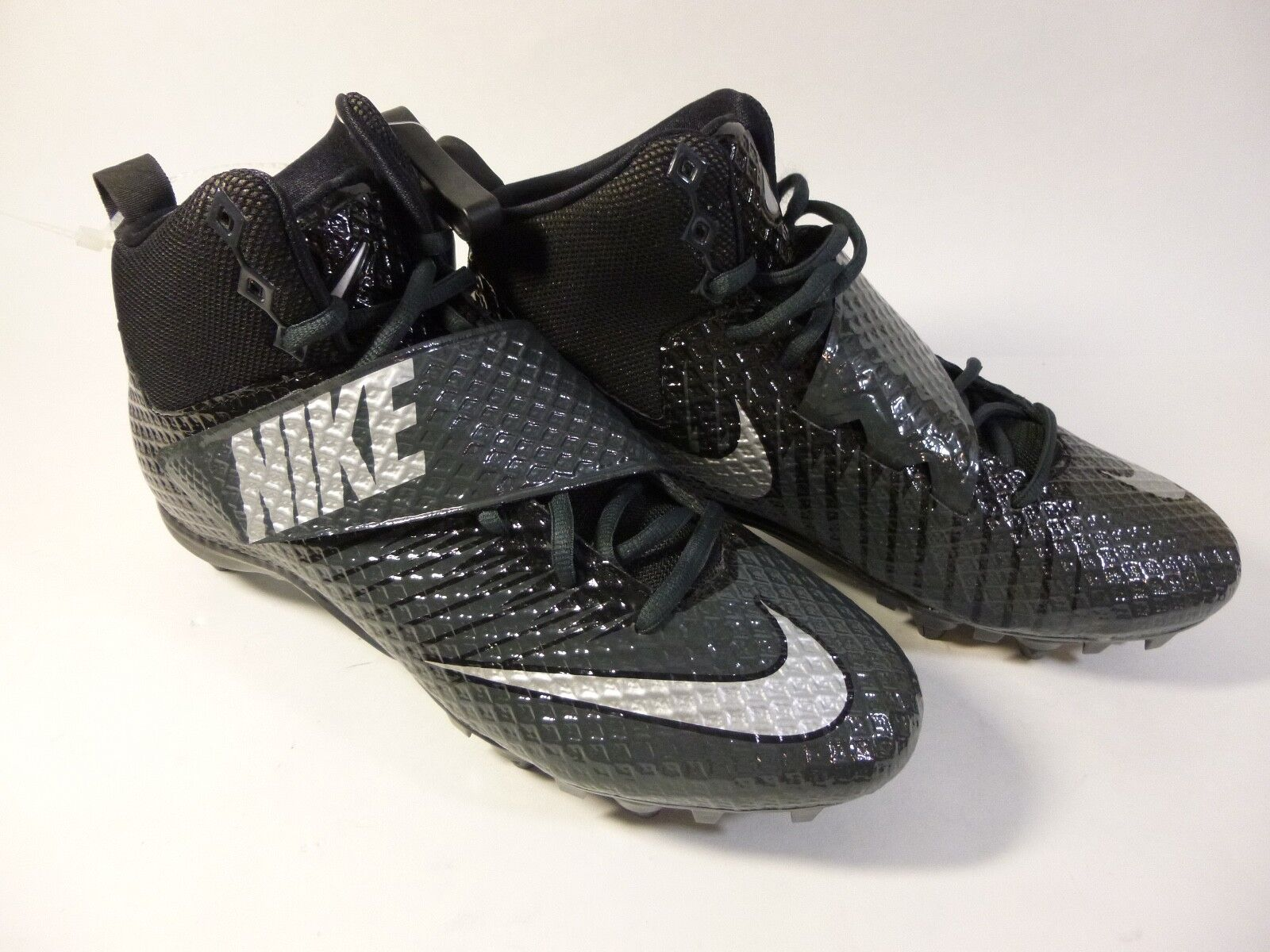 Men's Nike Lunarbeast Strike Pro TD 3 4 Mid 839934-001 Football Cleats Sz 9.5