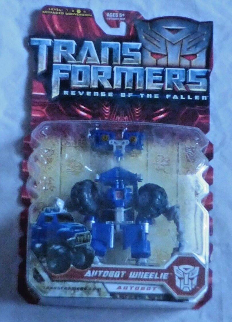 Hasbro Transformers rossof Film Autobot Wheelie Action Figure Deluxe Misb