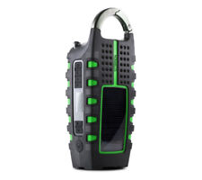 Eton NSP101WXGR Scorpion LL Rugged Portable Multi-purpose Digital Radio With Cra