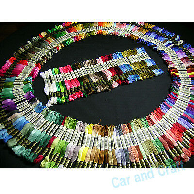 Pick ur Color, 50 skeins France DMC Embroidery Floss Cross Stitch Fill Wishlist