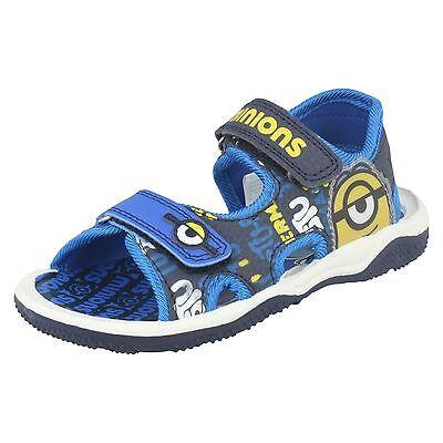 Jungen Kinder Despicable Me Fraser Minion blau Sommer Sport Sandalen