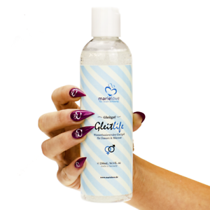 Gleitgel 250ml Wasserbasis Gleitcreme Gleitmittel für Silikon Sexspielzeug 💕💕