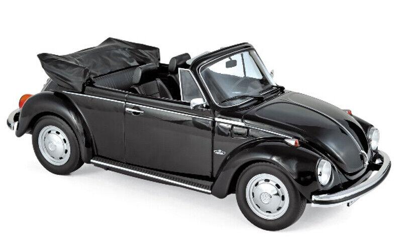 VW Käfer 1303 Cabrio 1972 schwarz 1 18 Norev SONDERModellllL