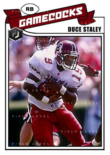 ACEO DUCE STALEY SOUTH CAROLINA GAMECOCKS CUSTOM HAND MADE ART CARD
