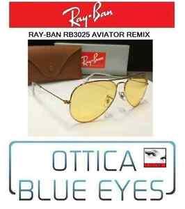 28c3712f5f3a Image is loading RAYBAN-Sunglasses-Aviator-RB-3025-ray-ban-remix-
