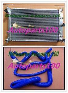Aluminum-Radiator-amp-Hose-for-Ford-BA-BF-Falcon-XR8-5-4L-Fairmont-10-02-4-08