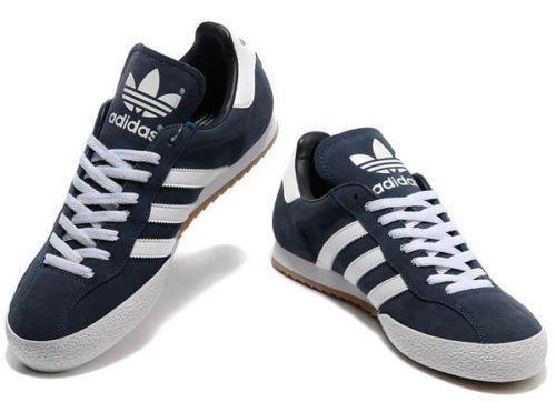 Homme Chaussures Originals Marine Daim Samba Baskets Adidas Super pqwg6Y