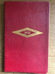Original 1935 Heilbroner's Baseball Yearbook, EX+ Condition, Free US Shipping
