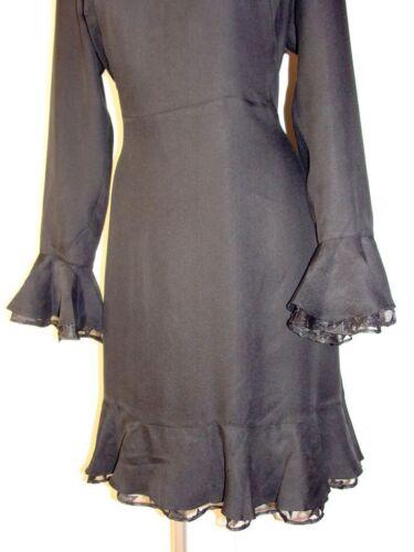 Chatoyant De Iv40 Noir Scotch Volant U Avec Taille Robe En XL De Soirée Soda 5ARj4L