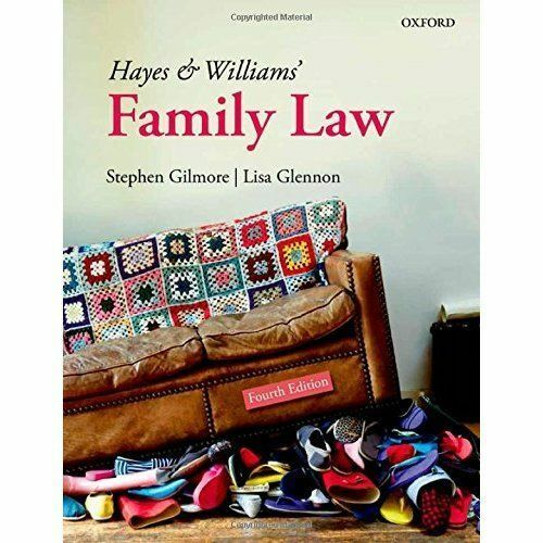 1 of 1 - Hayes and Williams' Family Law by Stephen Gilmore, Lisa Glennon (Paperback,...