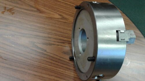"""10/"""" 3-JAW SELF-CENTERING CHUCK Front Mounting for rotary tables plain back"""