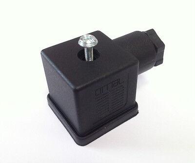 fits CEME PARKER ODE ASCO M/&M coils oblong Solenoid valve DIN plug x2