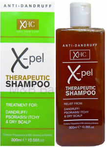 Xpel-Therapeutic-Shampoo-300ml-Treatment-for-Dandruff-Psoriasis-Dry-Itchy-Scalp