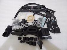 LAMBRETTA LI SERIES COMPLETE BLACK RUBBER KIT LI 150 NEW