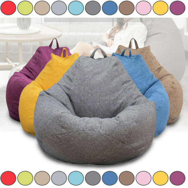 Fur Real Stuffed Animals, Large Stuffed Animal Toy Storage Bean Bag Kids Bean Cover Soft Seat Organizer For Sale Online Ebay