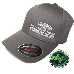 4ba52225cef Ford Powerstroke hat ball cap fitted flex fit flexfit stretch ...
