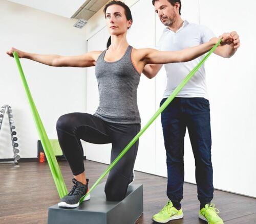 2 m x 14 cm mittlerer Widerstand  45079 PINOFIT® Gymnastikband pink ca