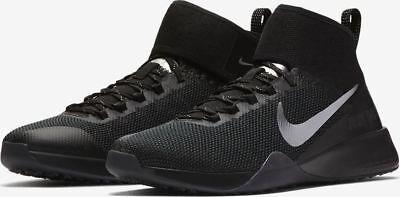 04b640ac11e5 Nike Womens Air Zoom Strong 2 Selfie Black Chrome AH8195 001 Size ...
