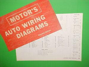 [EQHS_1162]  1963 1964 1965 1966 1967 LINCOLN CONTINENTAL CONVERTIBLE SEDAN WIRING  DIAGRAMS   eBay   1966 Lincoln Continental Wiring Diagrams      eBay