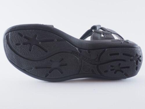 RICOSTA Tally Mädchen 31 33 Mittel Leder Schwarz Sandalen NEU
