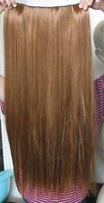 """Ginger IL RAME ROSSO 5 Clip un pezzo Dritto Lungo 22"""" CLIP IN ON Hair Extension"""