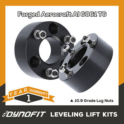 """StreetRays Aluminum 2.5/"""" Front Leveling Spacer Lift Kit 07-18 Tundra 4WD 2WD BLK"""
